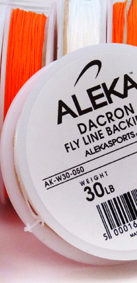 ALEKA Dacron Fly Line Backing