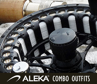 ALEKA Fly Rod, Reel & Line Combos