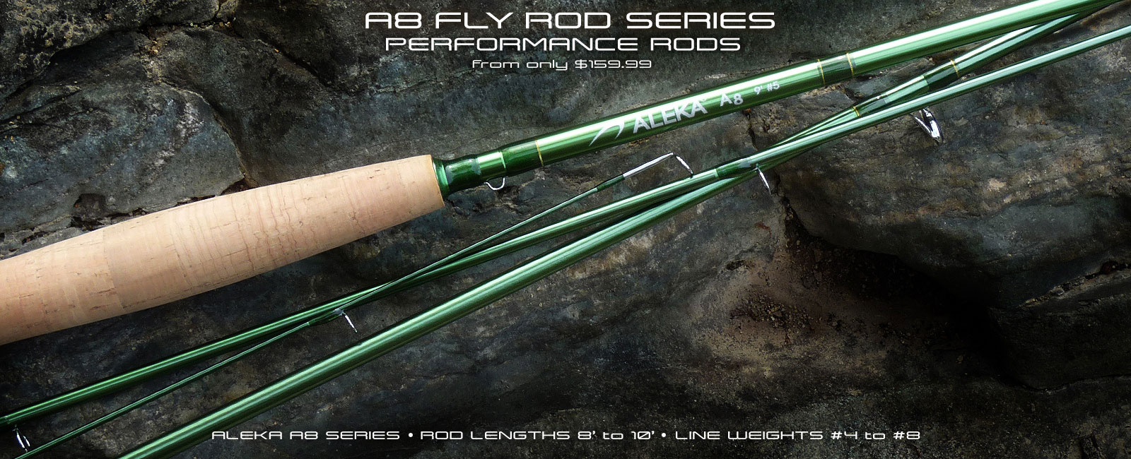ALEKA A8 Fly Rod Series