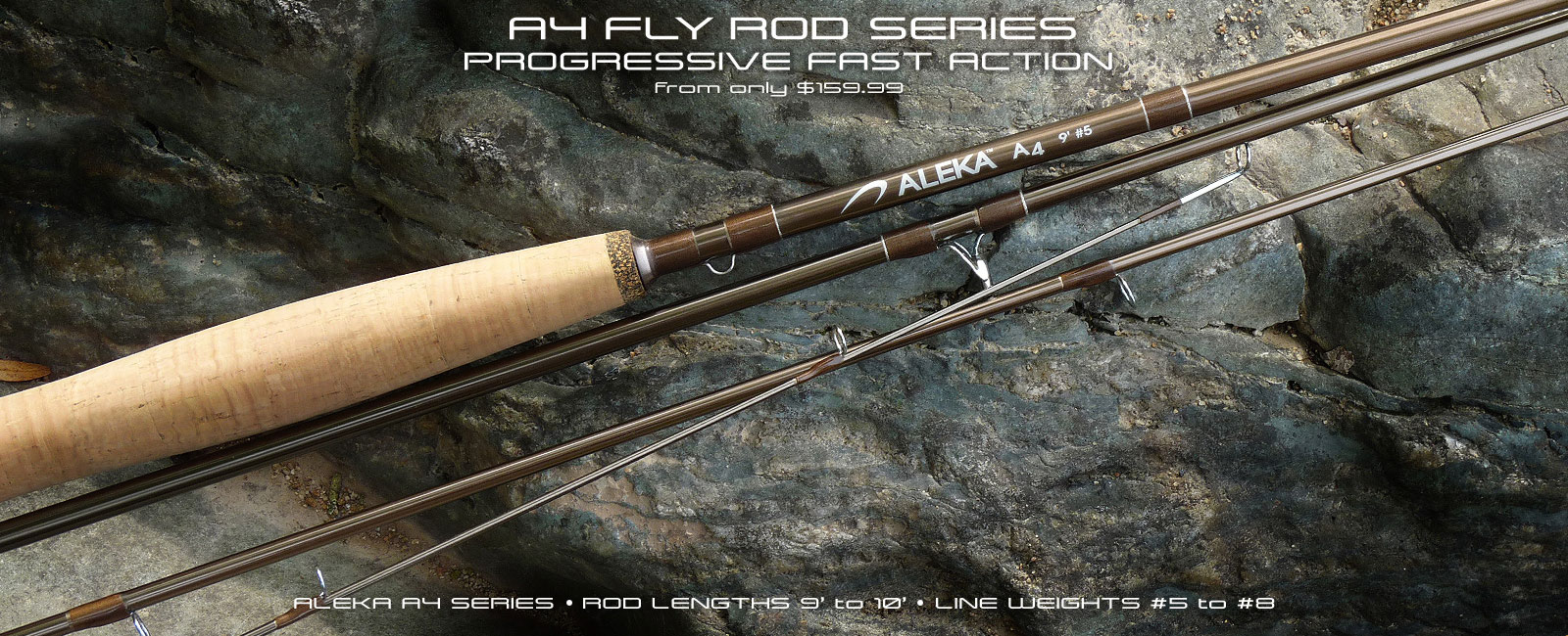 ALEKA A4 Fly Rod Series
