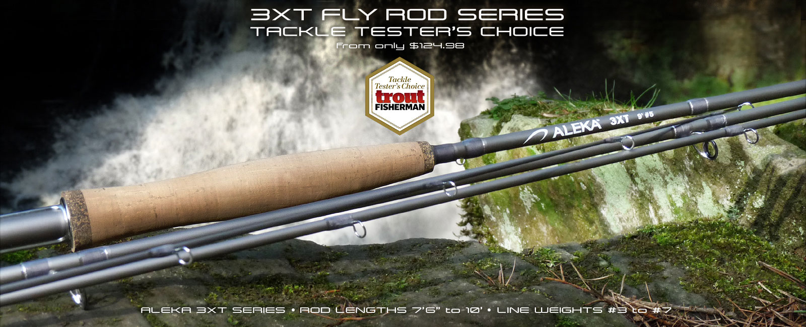 ALEKA 3XT Fly Rod Series
